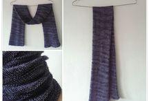 Trees - breipatroon col/sjaal / Trees is een gratis breipatroon van Puk Vossen. Te dragen als col of als sjaal. Zie Ravelry voor meer info!