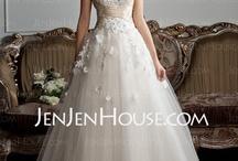 jenjen house wedding dress / by Shimha Shakyb