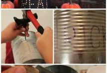 tin can crafts / by Caitlin Deters