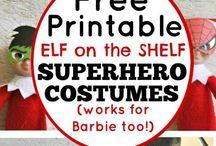 :: elf on a shelf ::
