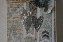 Cards from my little workshop / By Gitte Secher