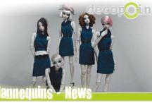 Mannequins / was gibt es neues aus der Welt unser Mannequins