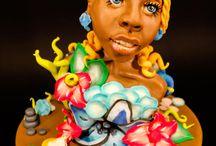 Oshun @The Lekki-Ajah International Cake Fair 2017 (Nigeria)