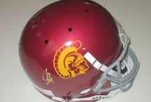 USC Trojans Autographed Football Collectibles / Welcome to my selection of autographed USC Trojans footballs & more. We at Southwestconnection-Memorabilia offer a wide variety of autographed NCAA collectibles including Footballs, Full Size Helmets, Mini Helmets, Jerseys, Pylons & Lithos! Please check out my website: www.AutographedwithProof.com for additional autographed memorabilia, including MLB, NFL, NHL, NBA and more! All items include photographic proof of our encounter with the athlete to insure authenticity!
