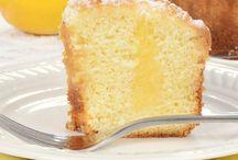 Gâteaux Fourré Au Citron