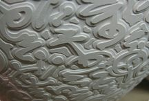 Pottery - Decorating - Greenware techniques / by Eileen Conner