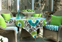 outdoor fabrics/rooms