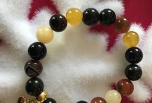 Braclets from natural gemstones