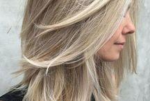 Hair mid length
