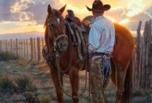 COW BOY AND VAQUEROS LIFE