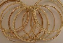 Sada náramků Gold Pearls Elegance