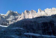 Fotografie e video in montagna / Scatti durante le escursioni svolte nelle montagne del Trentino