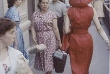 Dior models in Moscow 1959