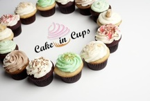 Cake in Cups / I make cupcakes, cookies, breads, and pies. Their yummy!! And you can order them from me.