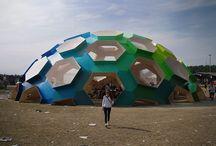 geometrical arch