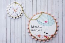 Embroidery / Embroidery patterns and tutorials