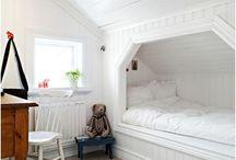 Loft bedrooms / Loft bedrooms
