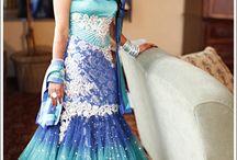 Something blue ideas for a wedding
