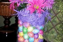 Easter decorations / by Haylee Sheehan