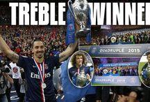 Treble Winners PSG / PSG sukses lengkapi trofi musim ini menjadi tiga trofi. Selengkapnya: http://goo.gl/A4mutS