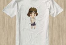 Pricess Monoke Anime Tshirt