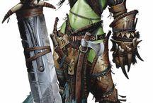Arratak - Urk / LARP character De Dwaler