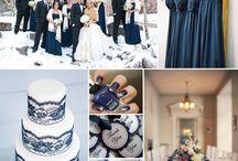Hochzeit Königsblau