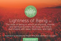 Shedding the Weight - Mind, Body & Spirit / www.chopracentermeditation.com