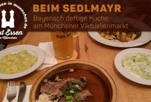 München: Essen & Trinken / Gut Essen in München und Umgebung; Gin, Cocktails