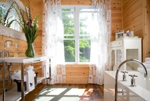 Places & Spaces / french chateaux, waterfront homes, muskoka, kitchens, bathrooms, lighting fixtures, design