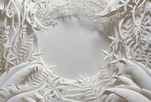 Бумагопластика. Предметно-изобразительные композиции / Рельефные и объемные предметно-изобразительные композиции из бумаги