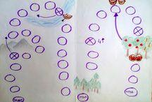 Gry planszowe / Tutaj zamieszczam stworzone przez siebie tematyczne gry planszowe, które wykorzystuje w terapii logopedycznej z dziećmi w wieku przedzszkolnym