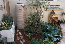 Gardenworld / JoJo Tanks installations in our award-winning garden with Talborne Organics and Jane's Delicious Garden