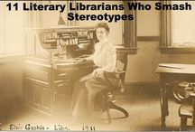 Literary Librarians / books, libraries and librarians / by Ferguson Library