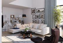 My work.Family livingroom