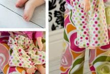 TODDLERS & CHILDRENS SEWING PATTERNS
