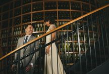 Collin & Christy / Delightful urban winery wedding with a classic trolley ride through Chicago