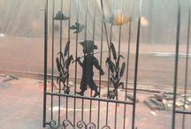 Silhouette Gates / Custom Fabricated gates by Titan Fence & Supply Company