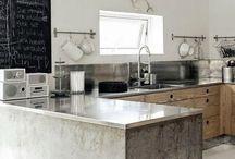 interiors - kitchen / by Tinas Lounge