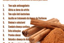 Benefícios de canela