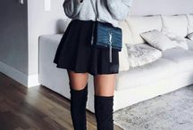 Overknee boots outfit
