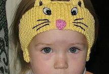 faixas de cabelo de croche