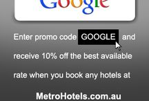 Promotions | Metro Hotels / by Metro Hotels