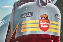 Railway posters and art