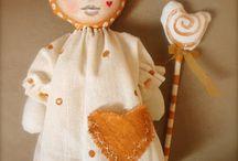 Cloth Art Dolls 6 / by Stephanie Smith