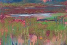Pastel schilderijen