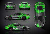 projekty samochodow