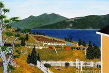 Clotheslines as Art / Clothesline and laundry art images