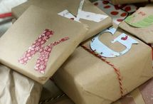 Gift Wrapping / by Katie Anderson