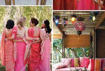Engagement colors / Color scheme idea for the engagement. Kept spring time in mind.